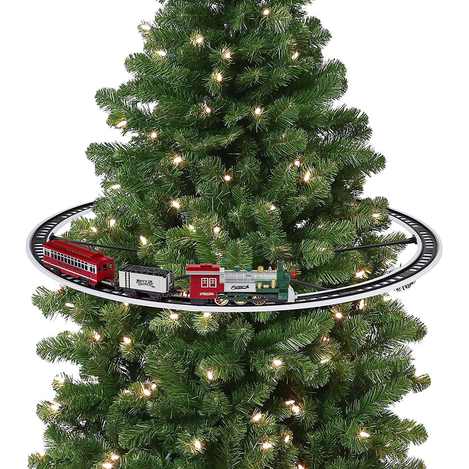 Mr. Christmas Elevated Christmas Tree Train