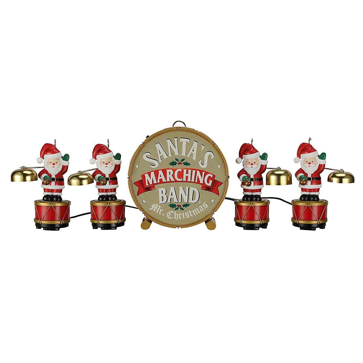 Mr. Christmas Santa's Marching Band - Coordinated Caroling ...