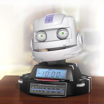 Mr Clock Radio World S First Robot Radio