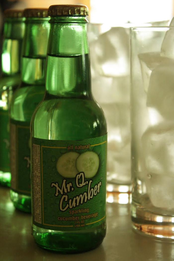 Mr Q Cumber Sparkling Cucumber Soda