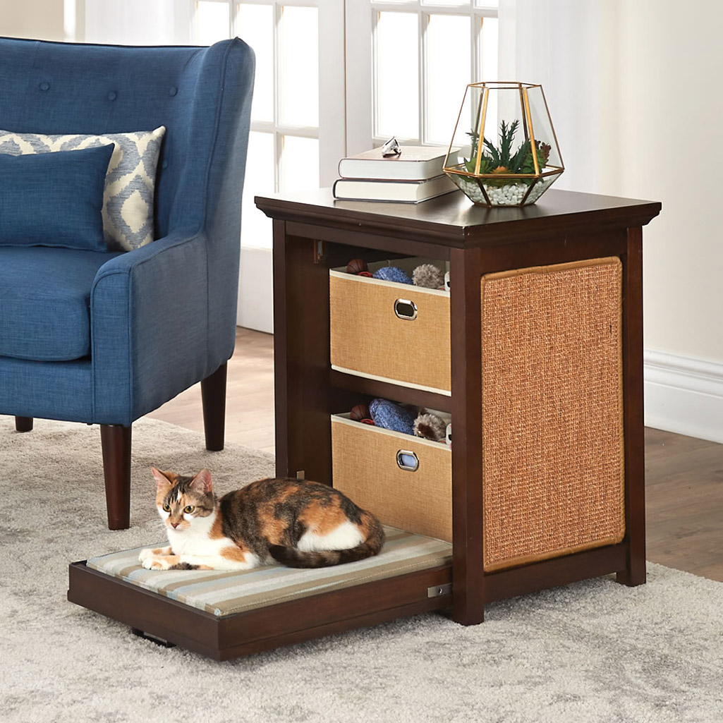 Murphy Bed For Cats Side Table