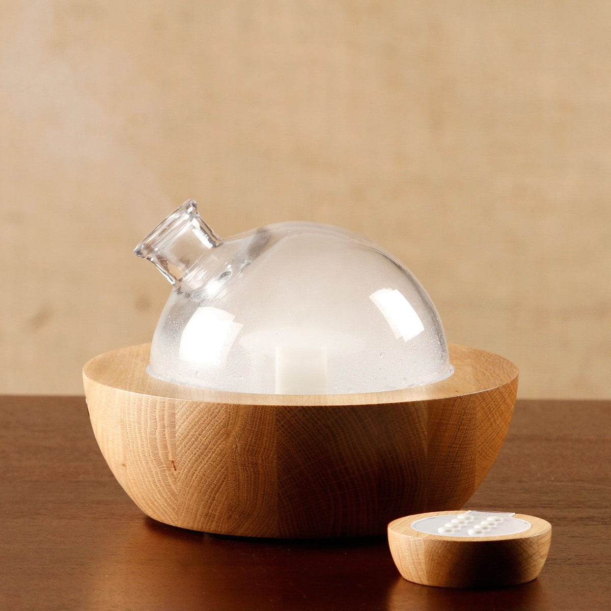 musical handcrafted essential oil diffuser the green head. Black Bedroom Furniture Sets. Home Design Ideas