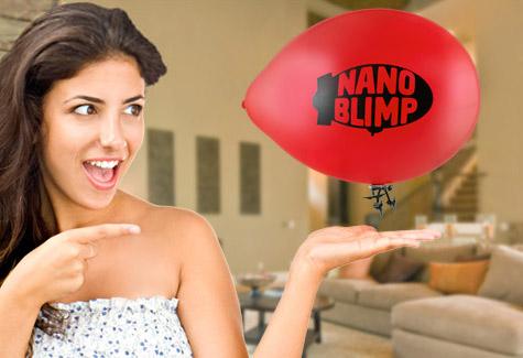 NanoBlimp - World's Smallest R/C Blimp - The Green Head