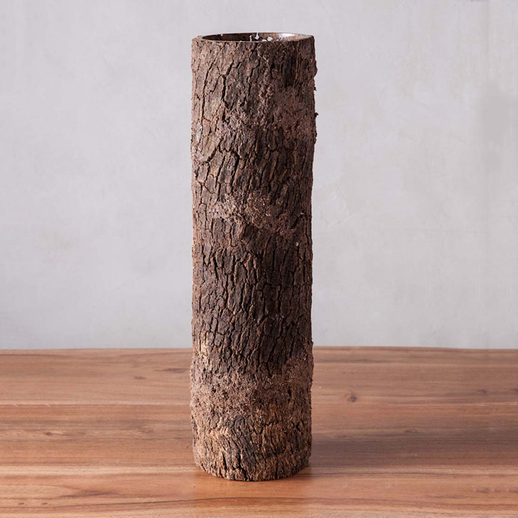 Natural tree trunk flower vases the green head natural tree trunk flower vases reviewsmspy