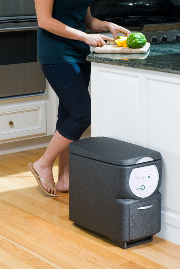 naturemill plus automatic kitchen composter the green head. Black Bedroom Furniture Sets. Home Design Ideas