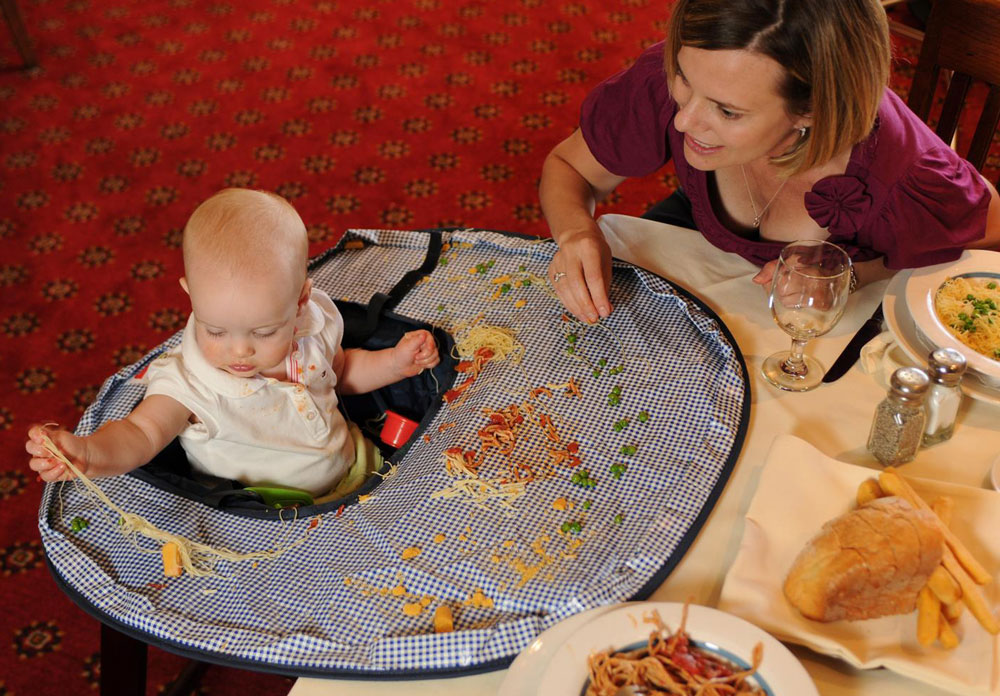 Neatnik Saucer All In One Restaurant High Chair Cover