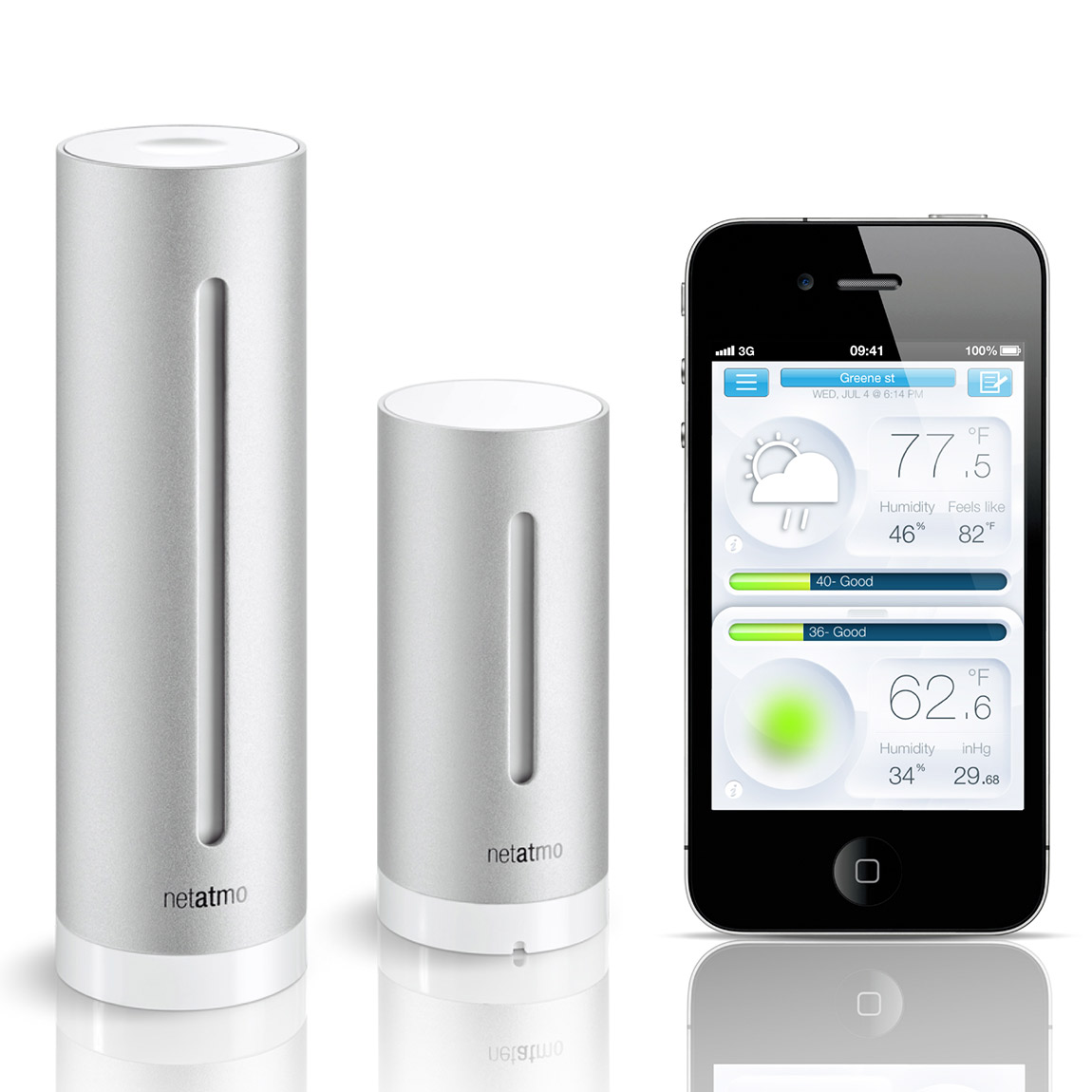 Netatmo - Weather Station and Air Quality Monitor for ...
