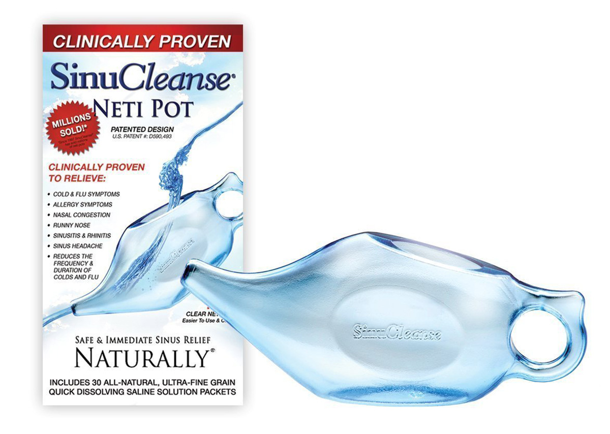 Neti Pot Nasal Passage Cleanser The Green Head