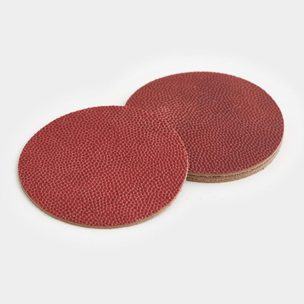 Nfl Football Leather Coasters