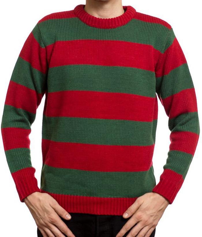 Color Of Freddy Krueger Sweater Sweater Grey