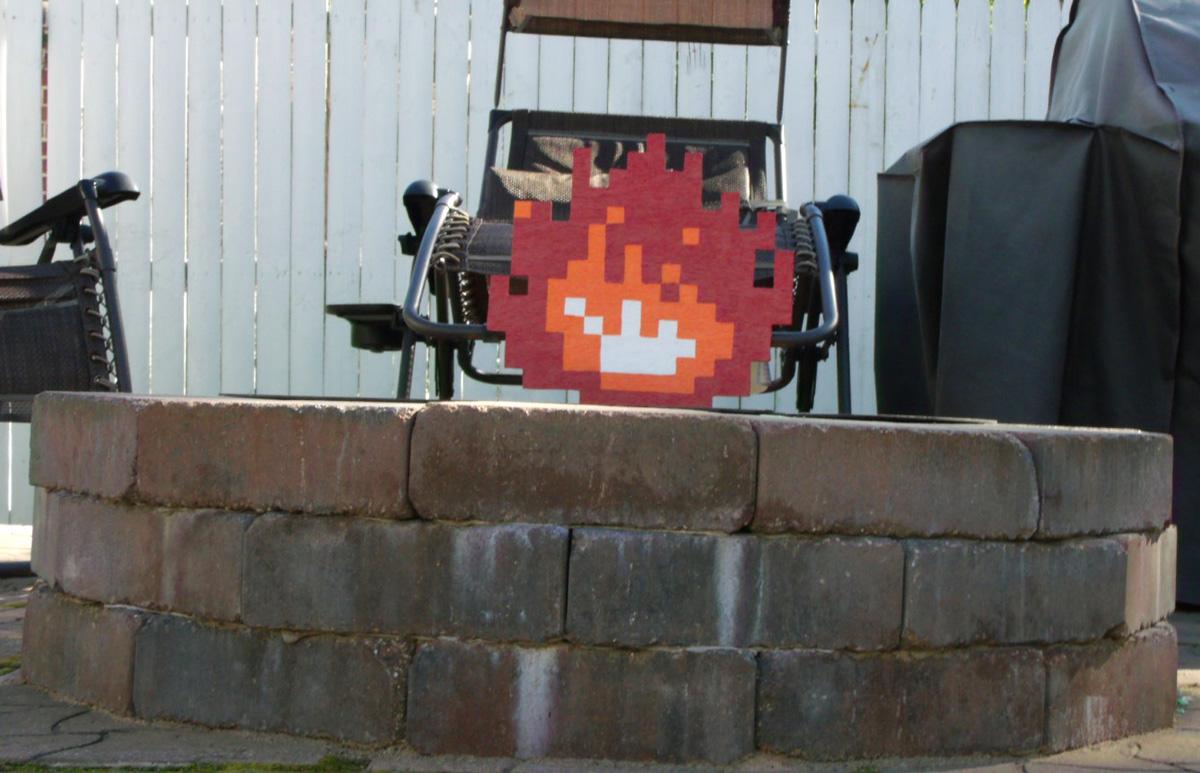 Nintendo NES 8-Bit 3D Wooden Pixel Art