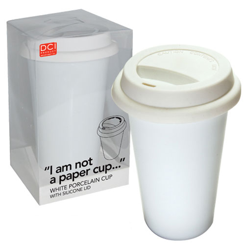 3d971c2fabf I Am Not A Paper Cup - Eco-Friendly Reusable Ceramic Coffee Cup