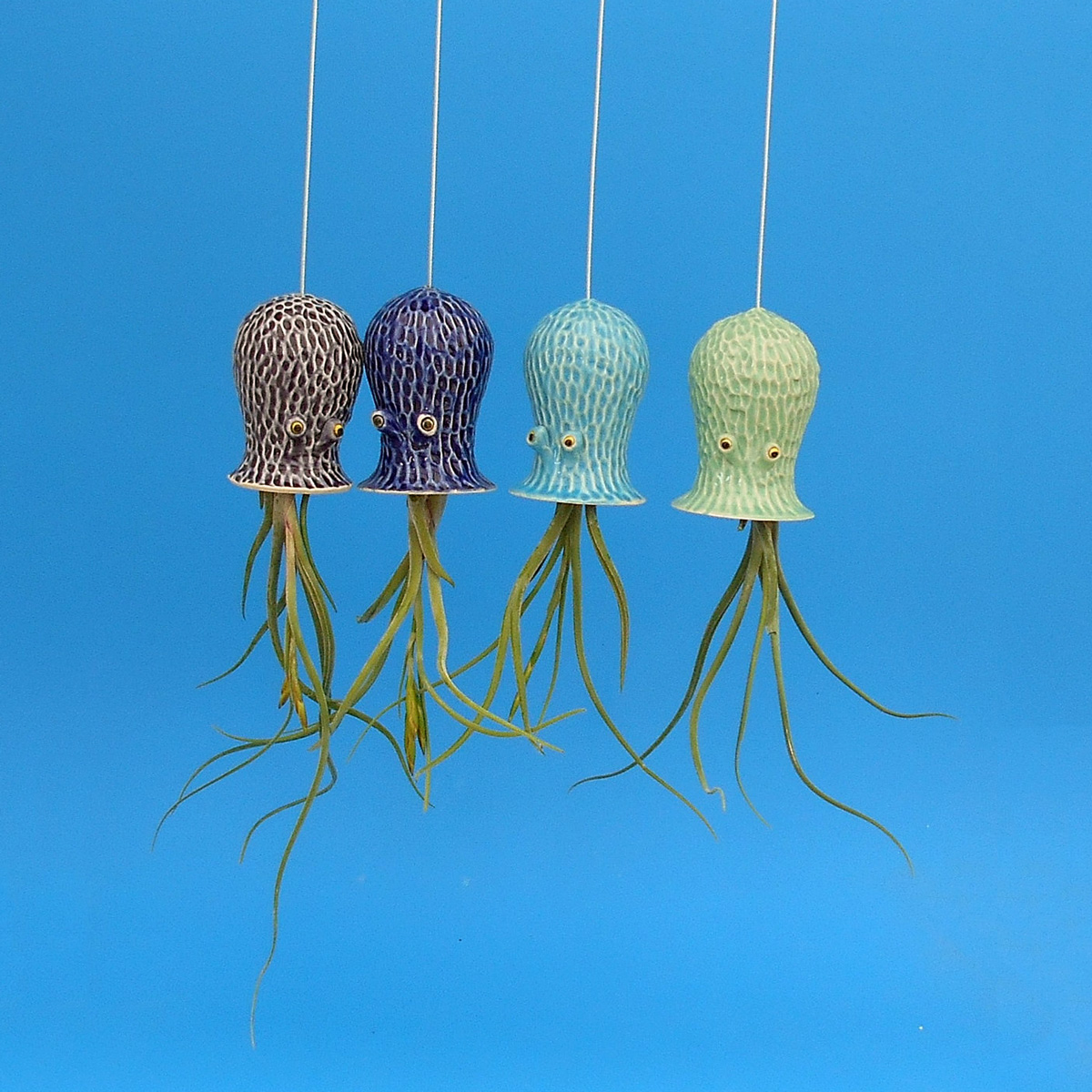 Octopus Air Plant Hanging Planter - The Green Head