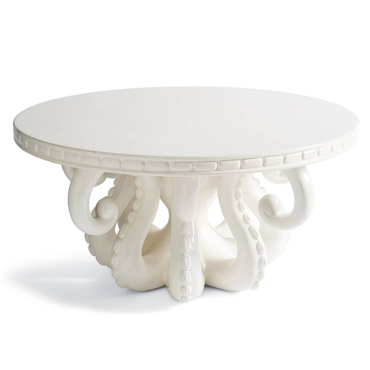 octopus coffee table - the green head