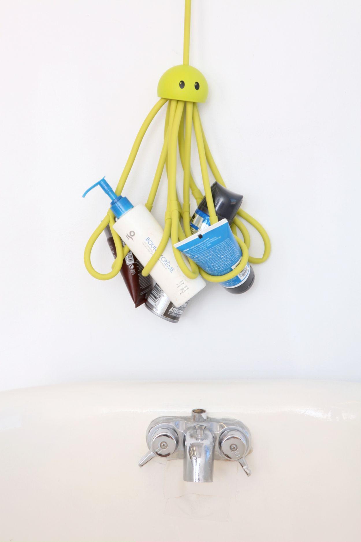 octopus shower caddy