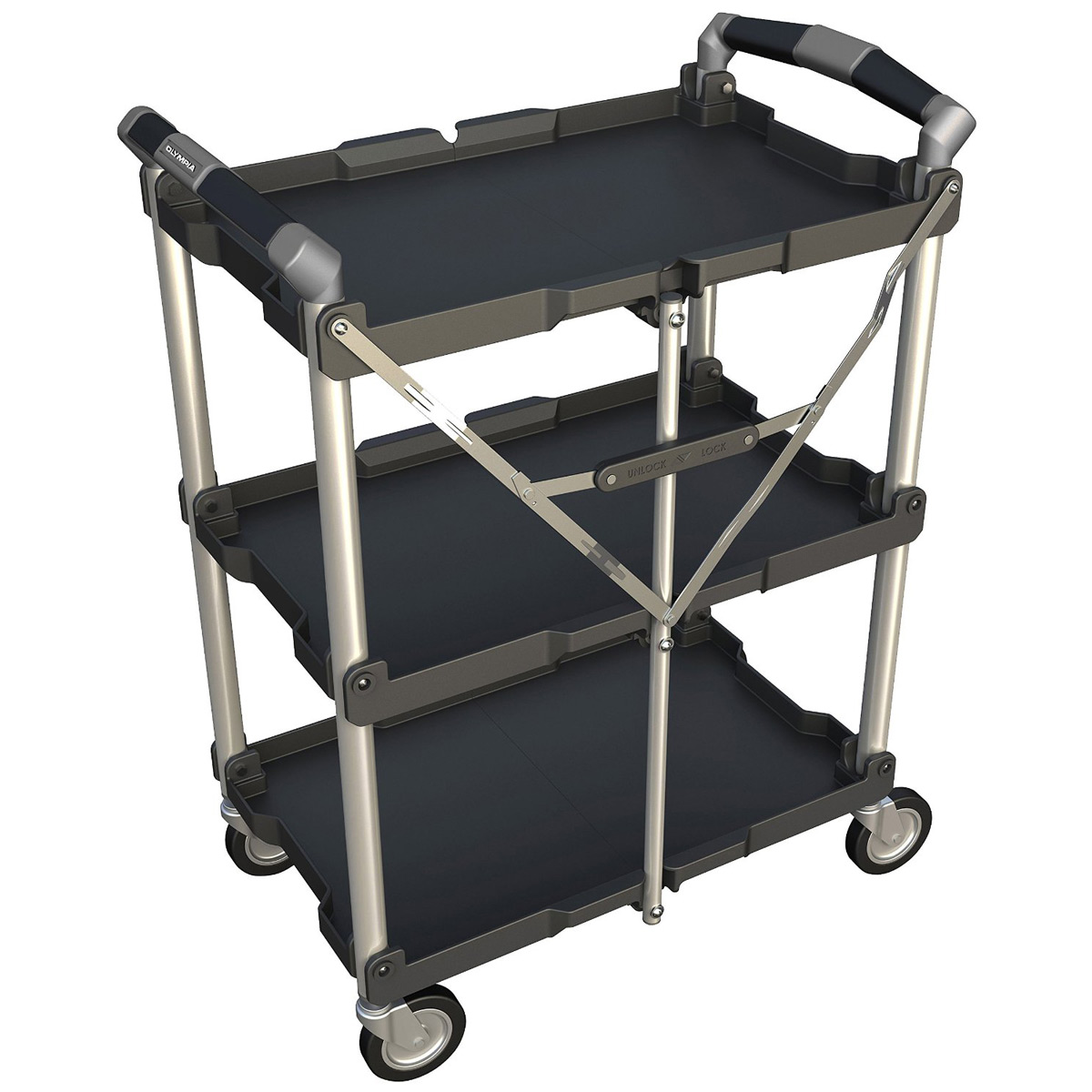 Olympia Tools Pack N Roll Collapsible Utility Cart