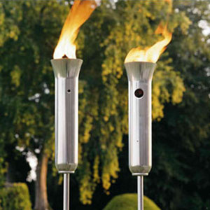 Olympic Torch   Propane Patio Torches