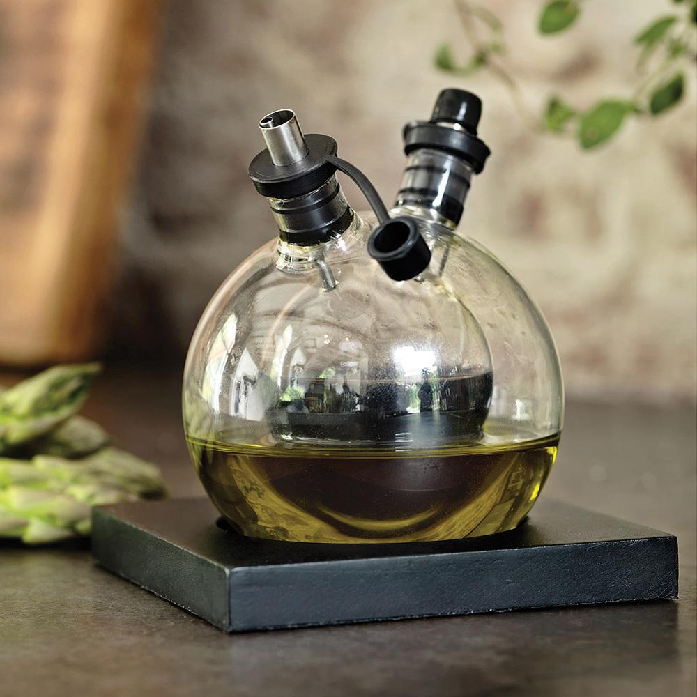 orbit oil and vinegar double layered bubble cruet the. Black Bedroom Furniture Sets. Home Design Ideas