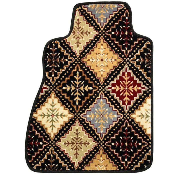 Oriental Rug Auto Floor Mats