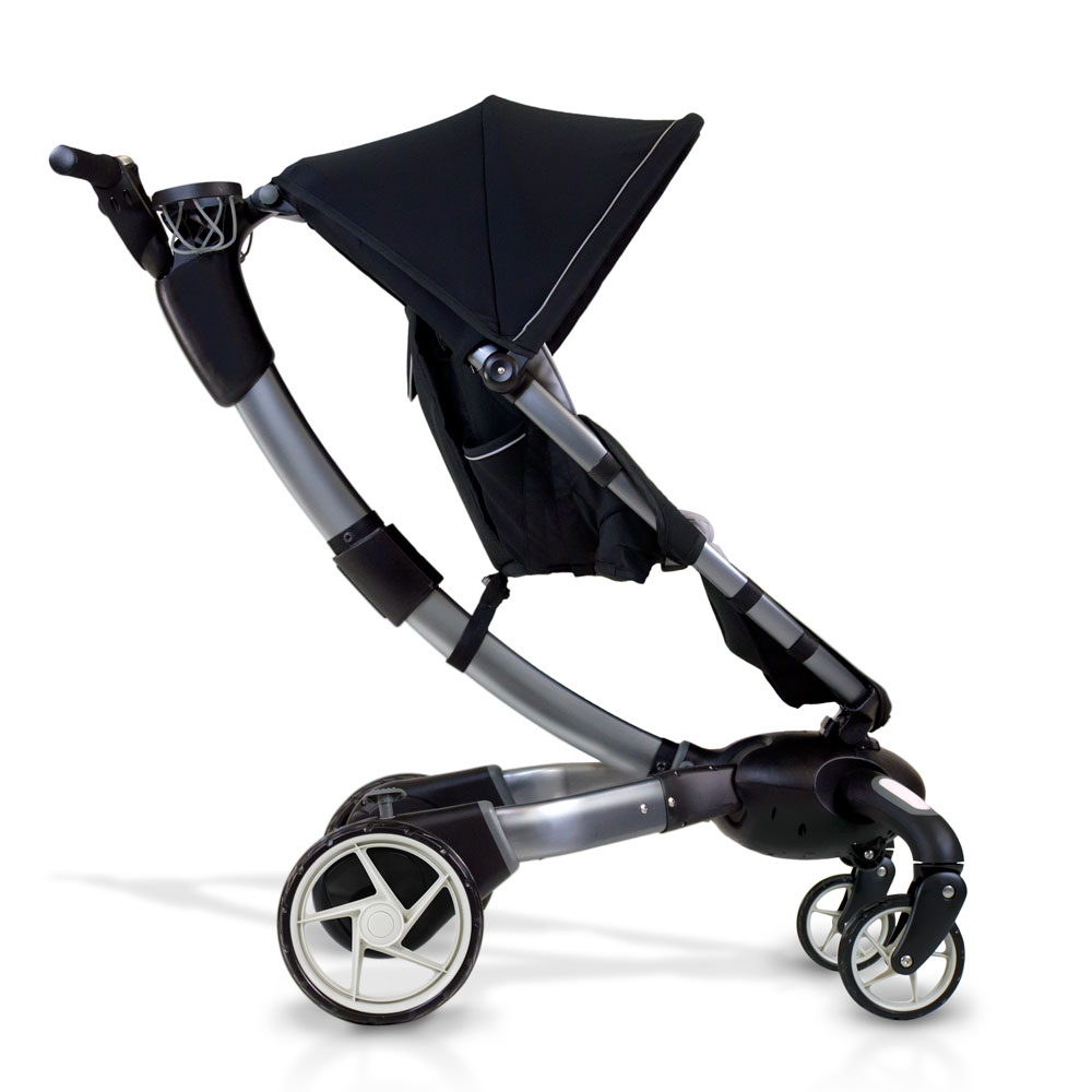 origami automatic power folding stroller the green head