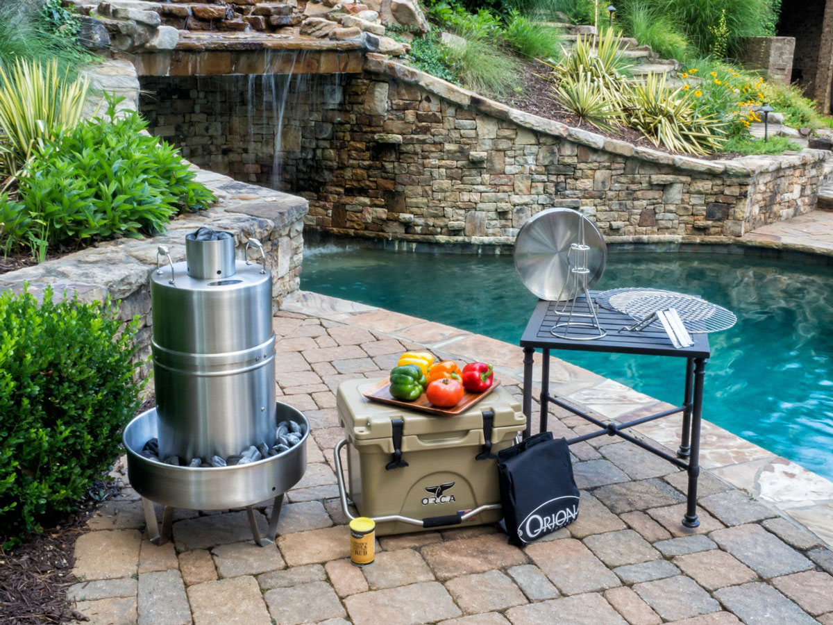 orion cooker fast and worry free convection cooker and bbq