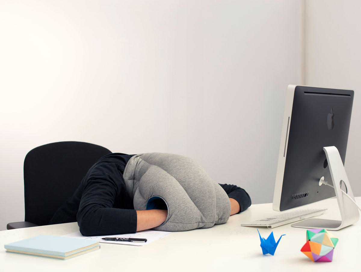 Ostrich Pillow Portable Power Nap Micro Environment