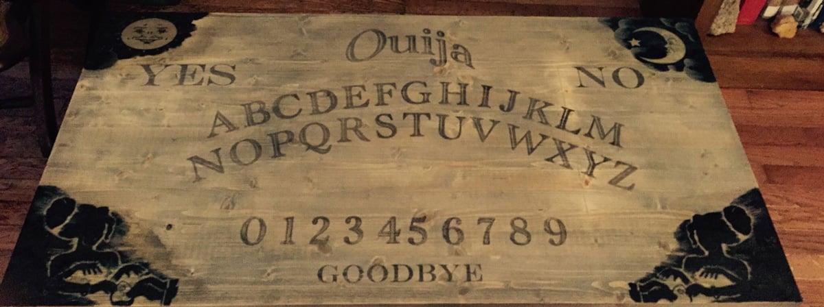 Ouija Board Coffee TableThe Green Head