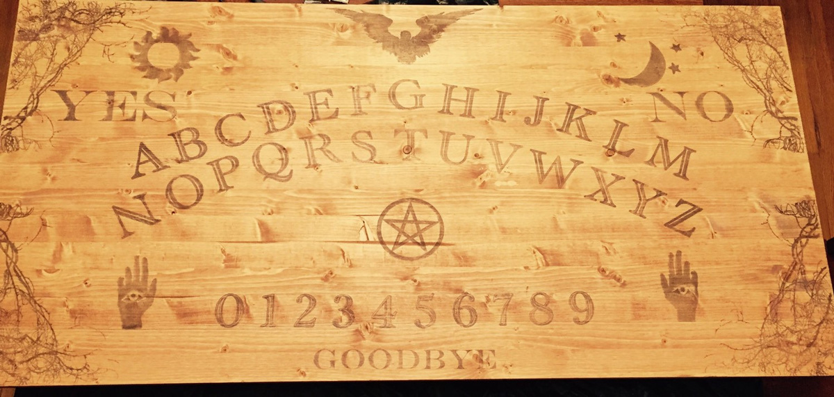 Ouija Board Coffee Table The Green Head