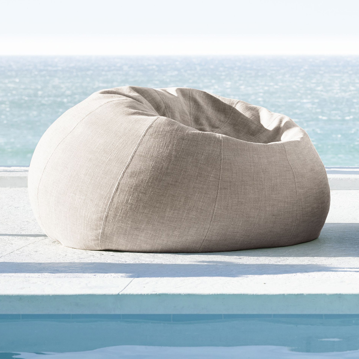 Outdoor Bean Bag Chair - Outdoor Bean Bag Chair - TheGreenHead.com
