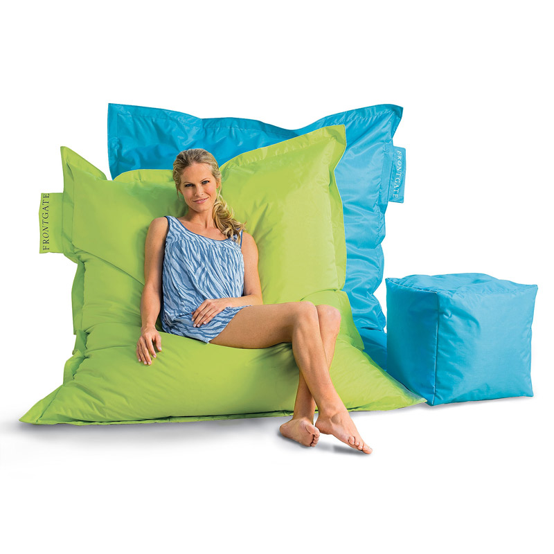Outdoor Oversized Beanbag on oversized bean bag chairs