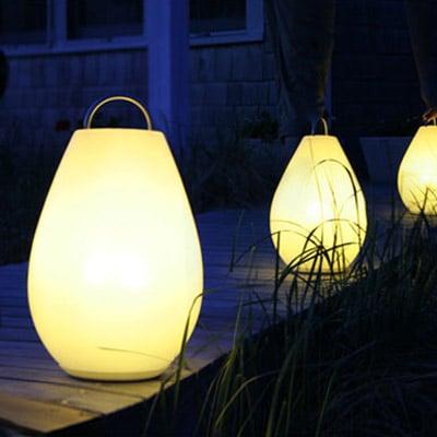 Oxo Candela Luau Portable Lamp The Green Head