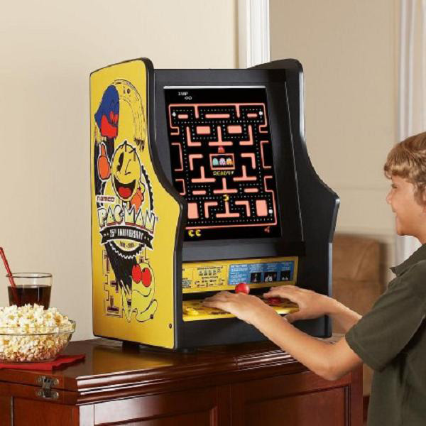 Pac Man Ms Galaga Tabletop Arcade Game The