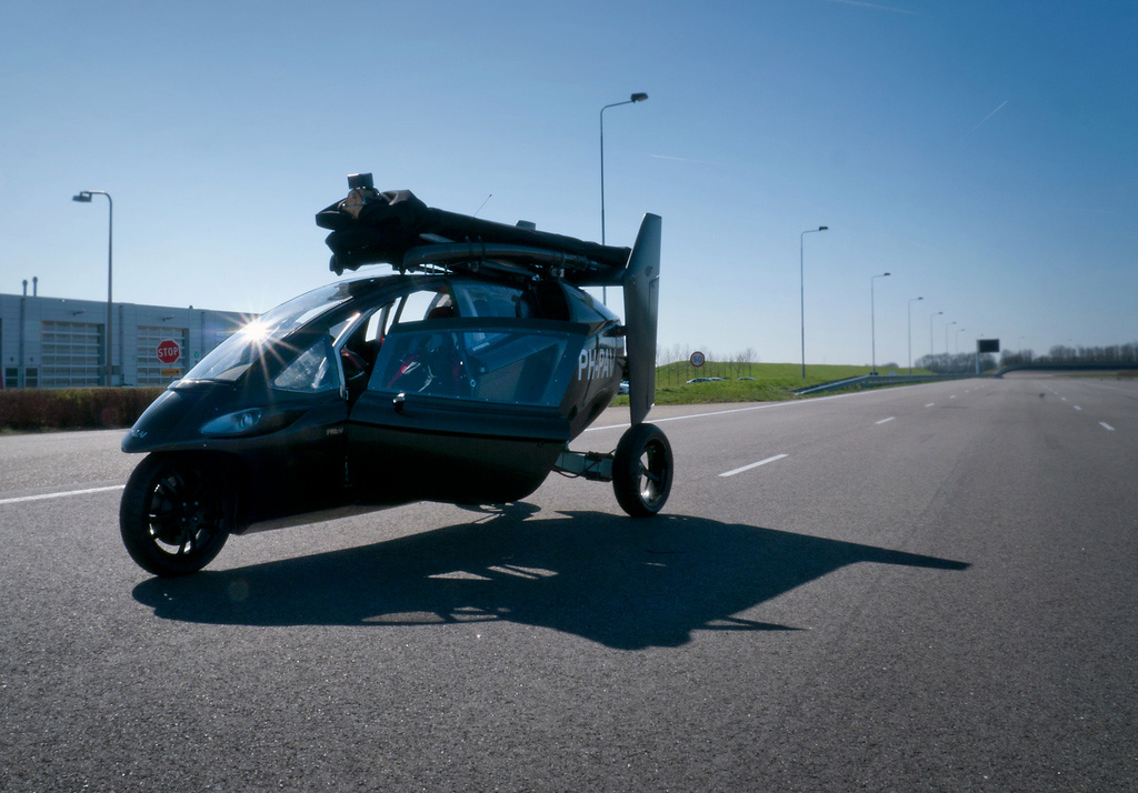 Pal V One Personal Air And Land Vehicle The Green Head