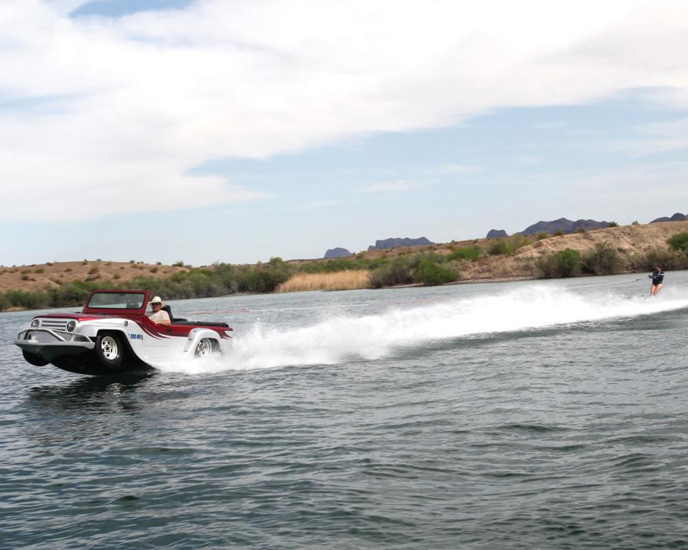 panther watercar   world s fastest amphibious vehicle