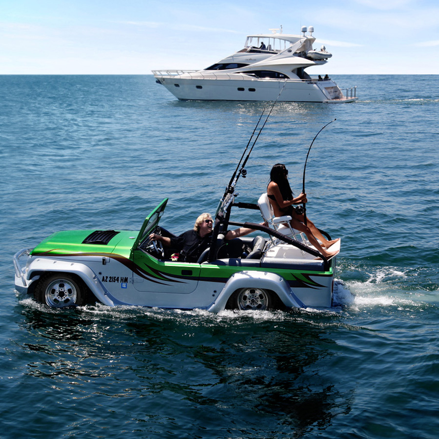 Panther Watercar World S Fastest Amphibious Vehicle
