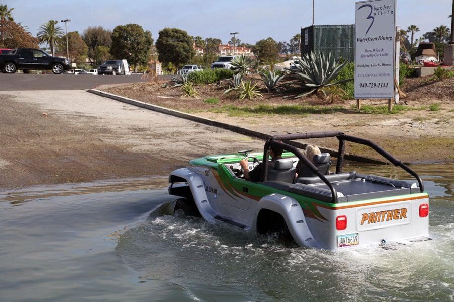 Panther Watercar - World U0026 39 S Fastest Amphibious Vehicle