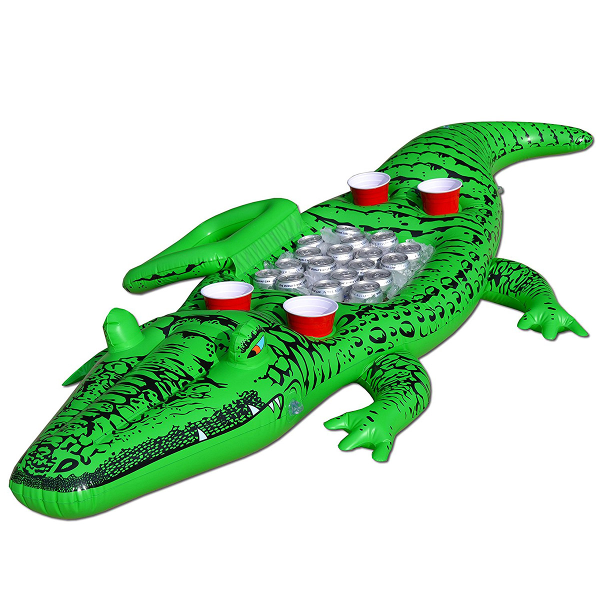 Party Gator Giant Inflatable Alligator W Built In