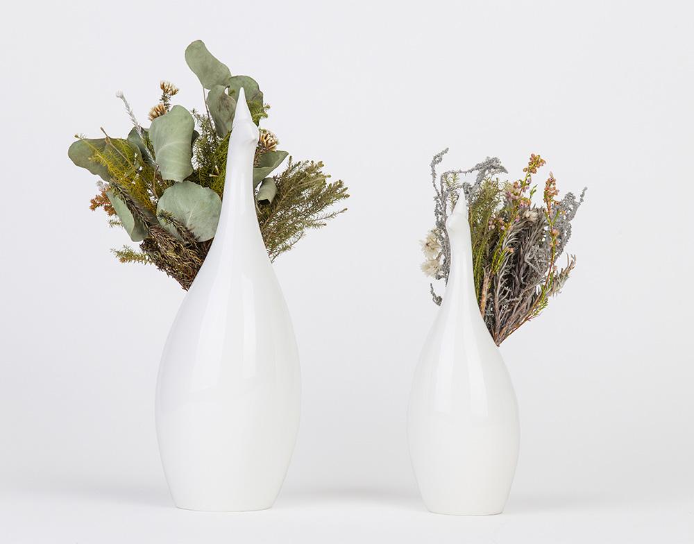 Peakco Peacock Flower Vase
