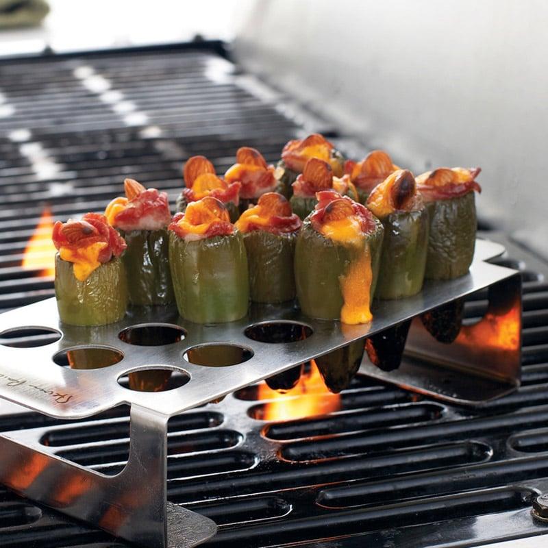 Pepper Corer And Pepper Grill Rack Set