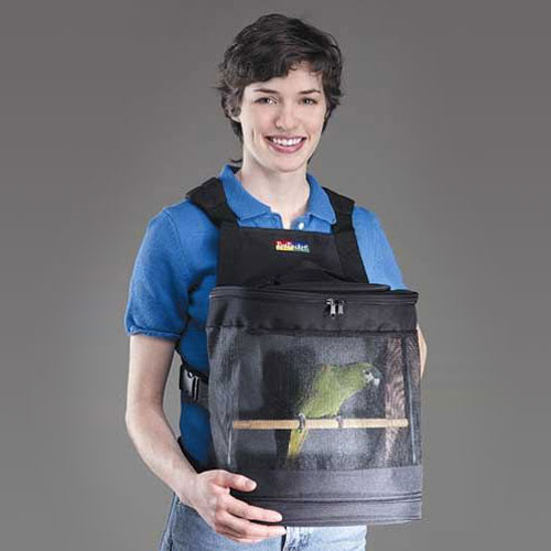 Pet Pocket Bird Carrier The Green Head