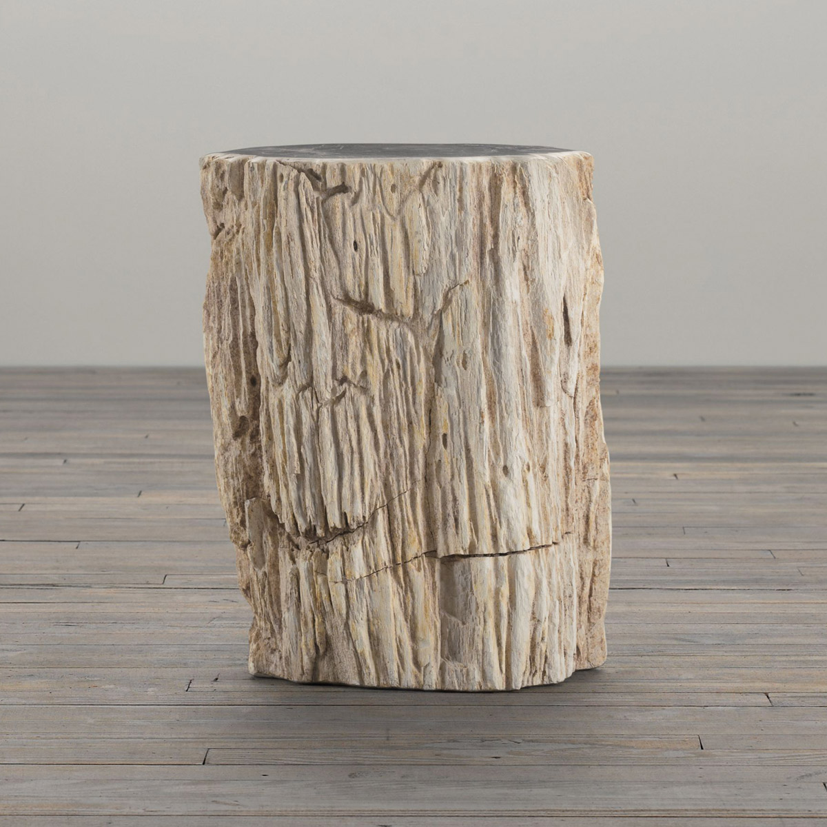 how to make a wood stump end table | Quick Woodworking ...