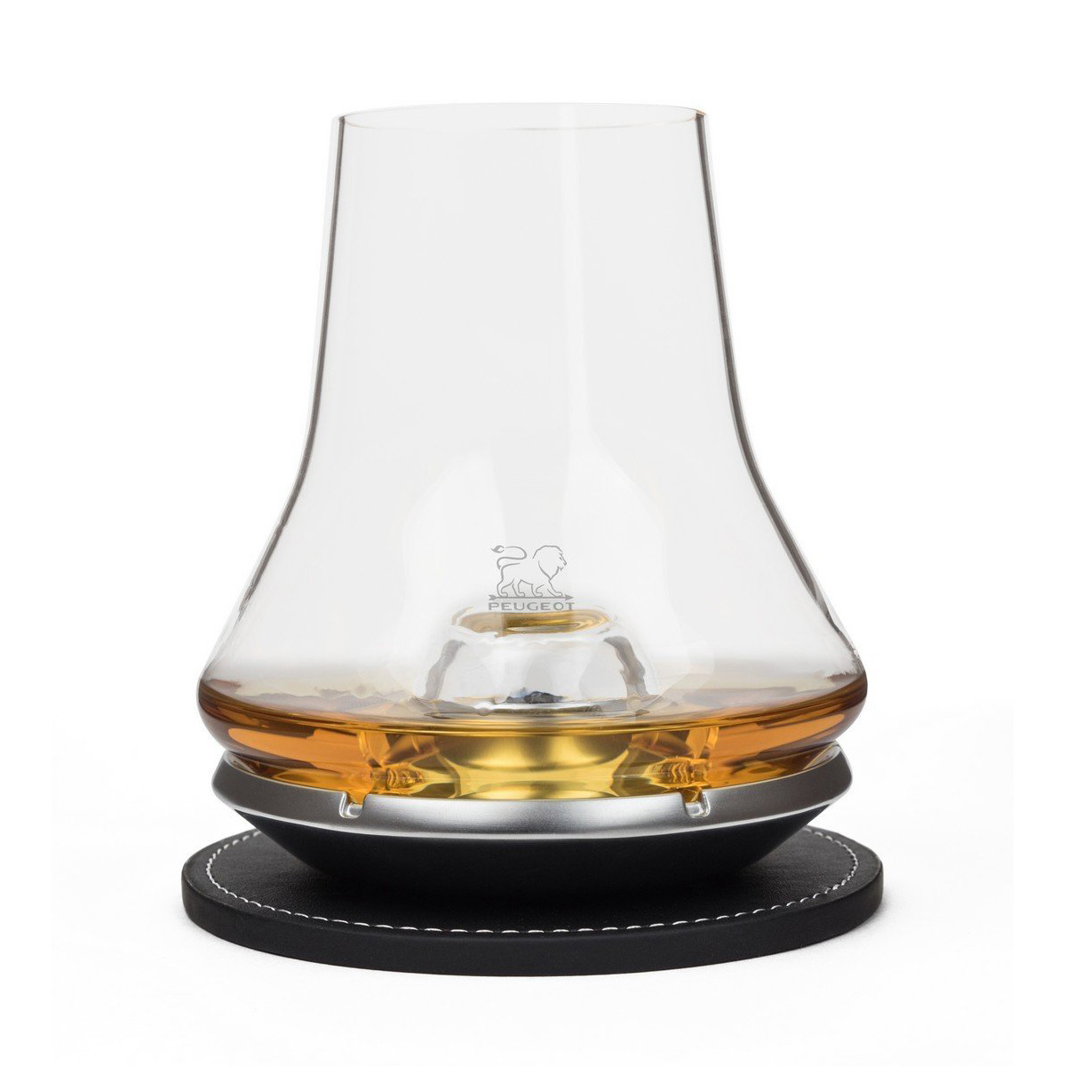 peugeot whisky tasting glass with chilling base the. Black Bedroom Furniture Sets. Home Design Ideas