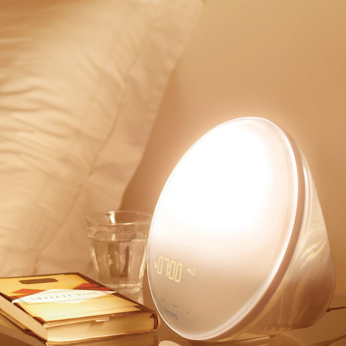 Philips Wake Up Light With Colored Sunrise Simulation For