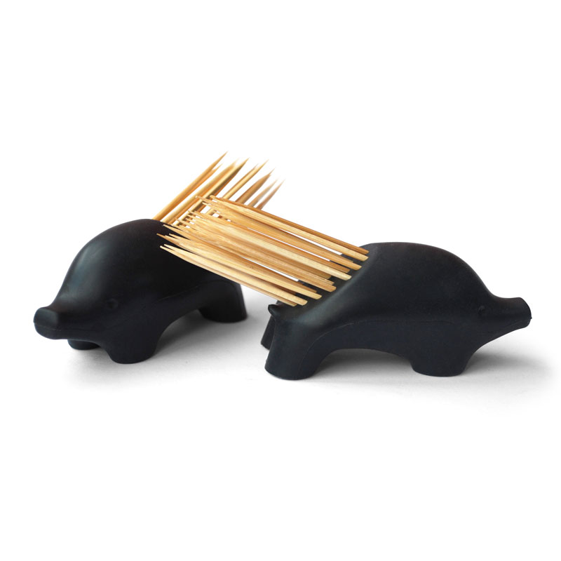 Pickurpine porcupine toothpick holder the green head - Tooth pick dispenser ...