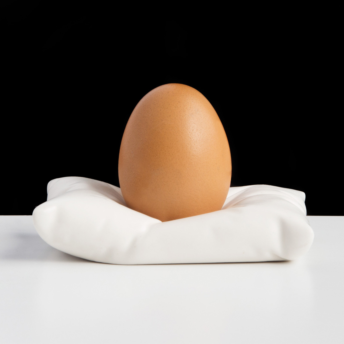 Pillow Egg Cup - The Green Head