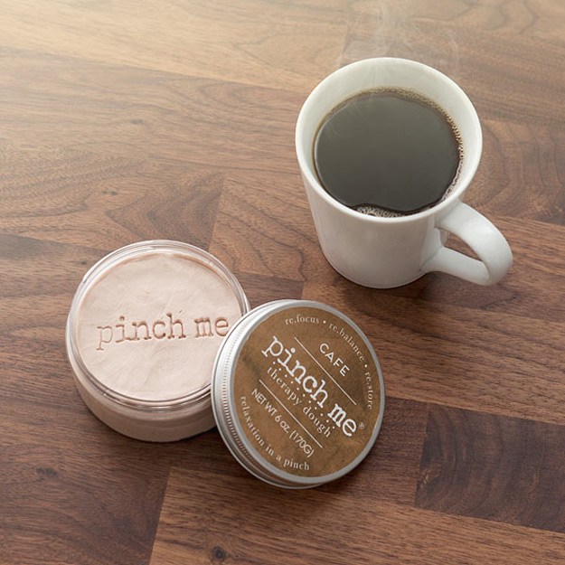 Pinch Me Coffee Scented Therapy Dough The Green Head