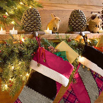 Pine Cone Stocking Hangers The Green Head