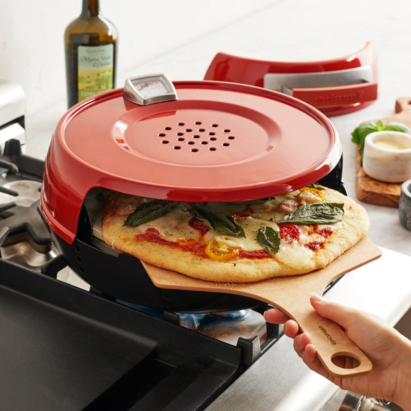 pizzacraft pizzeria pronto stovetop pizza oven the green head
