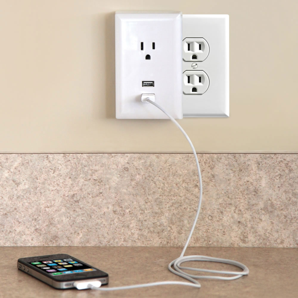 Plug In Usb Wall Outlets