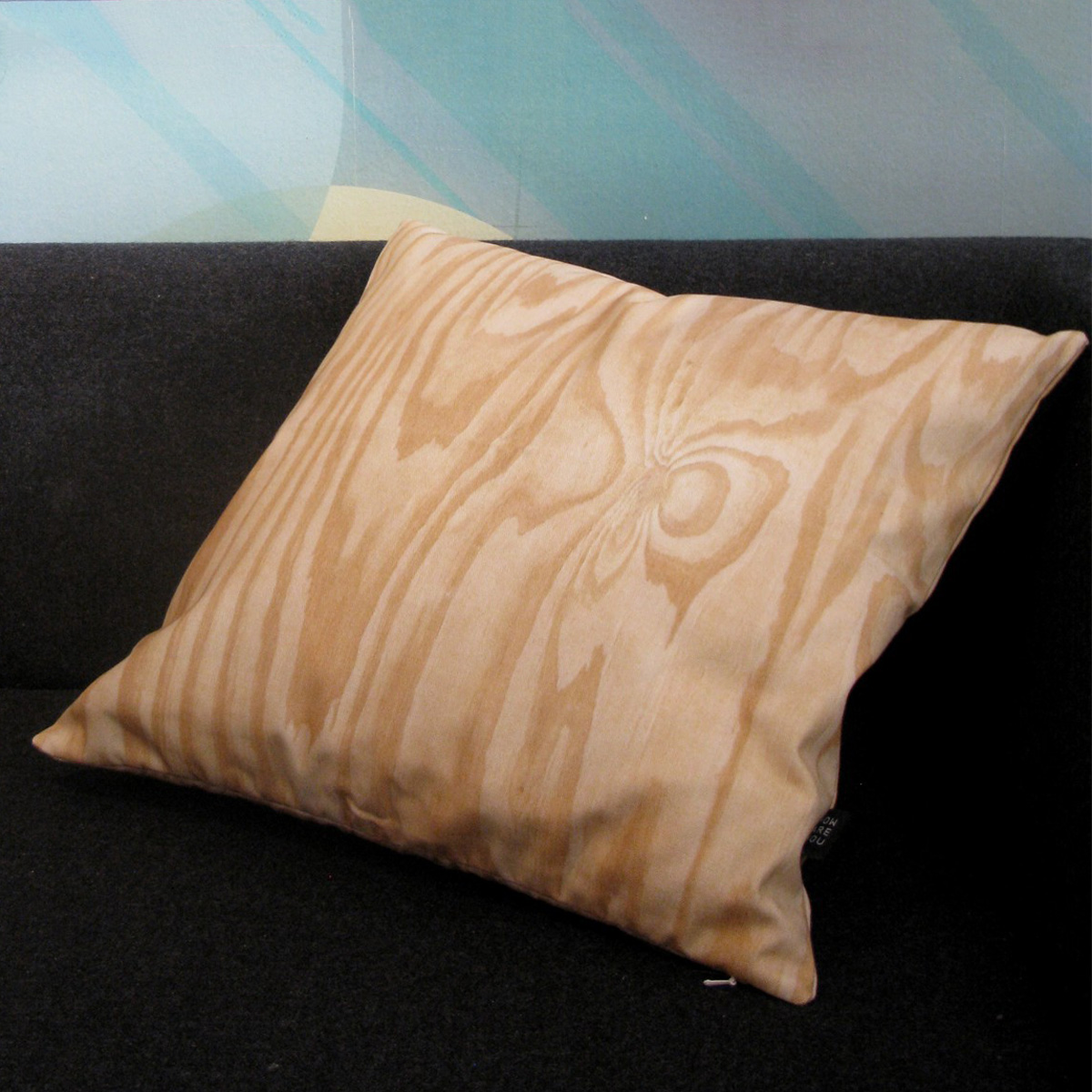 Plywood Throw Pillow The Green Head